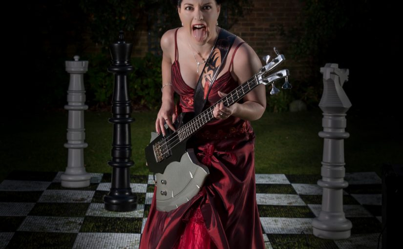 The Axe Bass, the Chessboard and the Queen